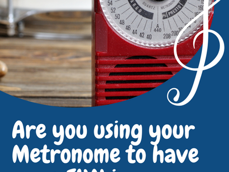 6 Fun Ways to Use Your Metronome