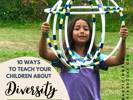 #50 Teaching diversity to your children and with music