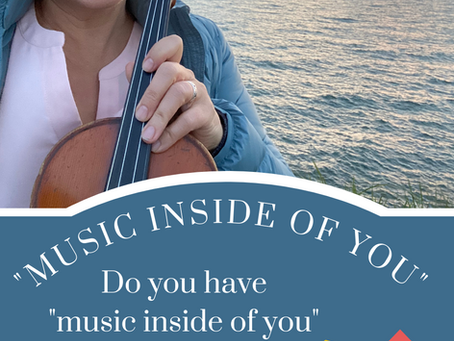 """#48 Do you have music """"inside of you""""?"""