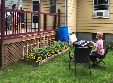 Backyard Music Lessons!