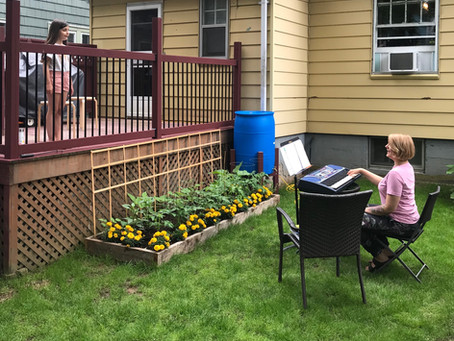 Backyard Music Lessons!