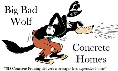 Big Bad Wolf Concrete Homes Logo - WB -