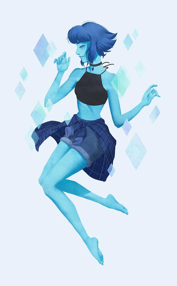 Steven Universe - Lapis Lazui