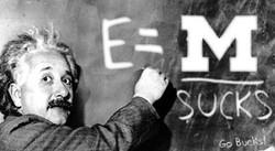Einstein_MichiganSucks