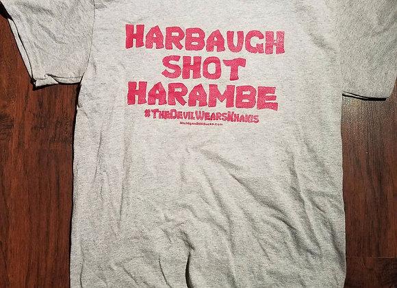 HARBAUGH SHOT HARAMBE!