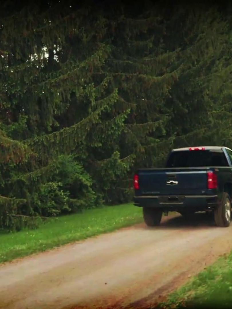 Silverado Bumper Ad