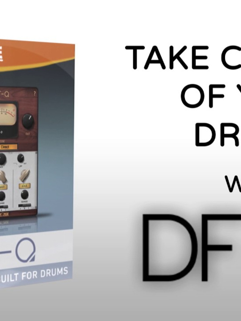 DF-Q is the First EQ Built For Drums