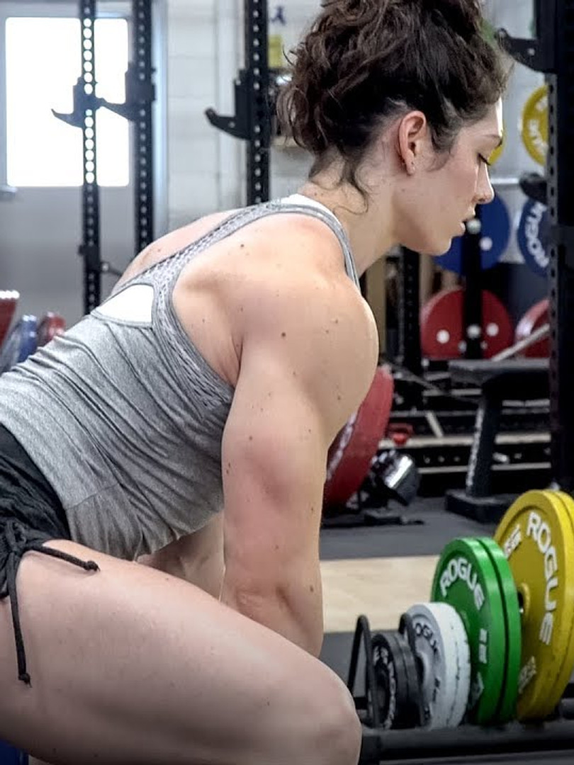 Leg Day with Natasha Aughey | Powerlifter