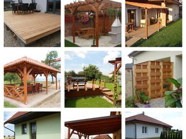 Dřevo v zahradě