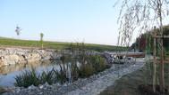 Zahradní jezírko Brno