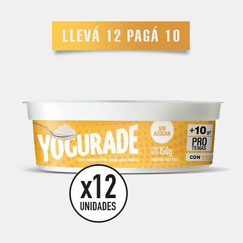 PROMO 150 VAINILLA: Yogur + 10g Proteínas