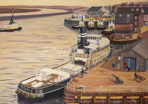 """The Danny"" at Old Quay Yard Runcorn"