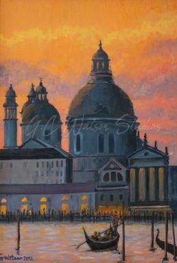 Evening Light in Venice