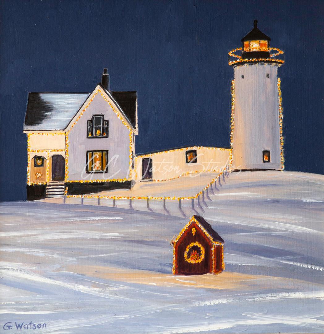 Snowy Cape Neddick