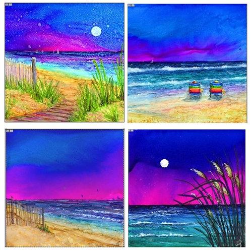 Beach Life Coaster Set