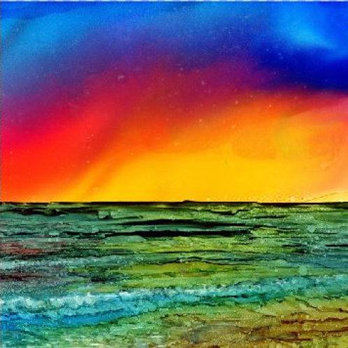Ocean Beach Trivet