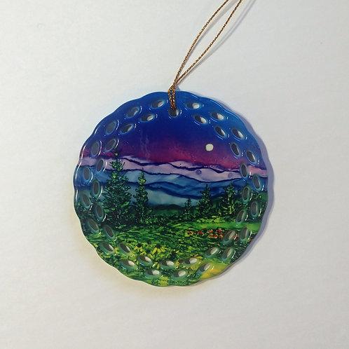 Majestic Mountains Ornament