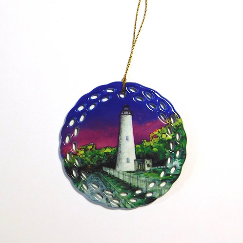 Ocracoke Island Lighthouse Ornament