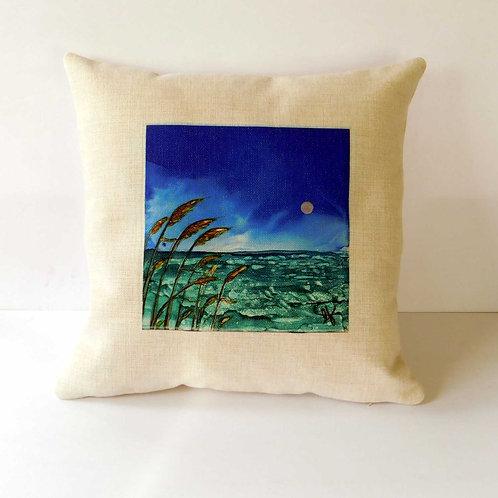 Sea Oats Pillow