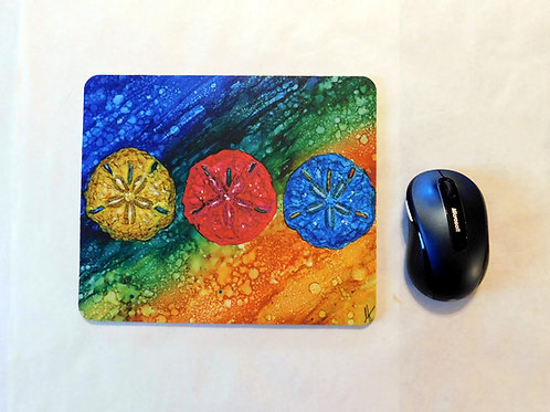 Sand Dollars Mouse Pad