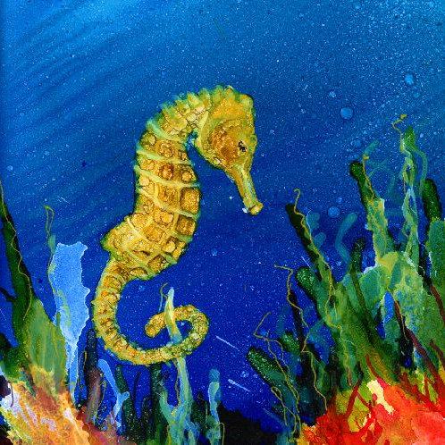 Sea Horse Trivet