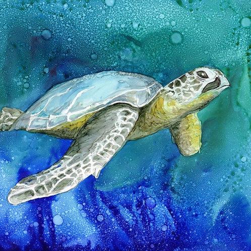 Sea Turtle Trivet