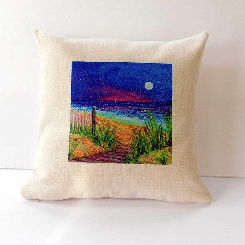 Beach Path Pillow