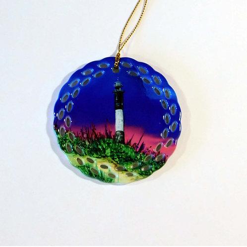 Oak Island Lighthouse Ornament