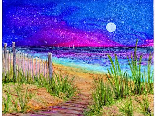 Beach Path Print