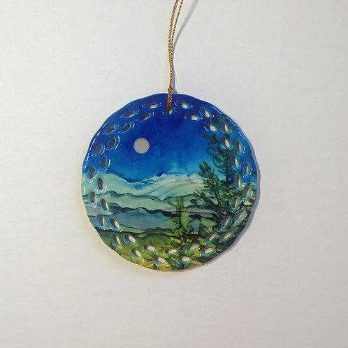 Blue Mountains Ornament