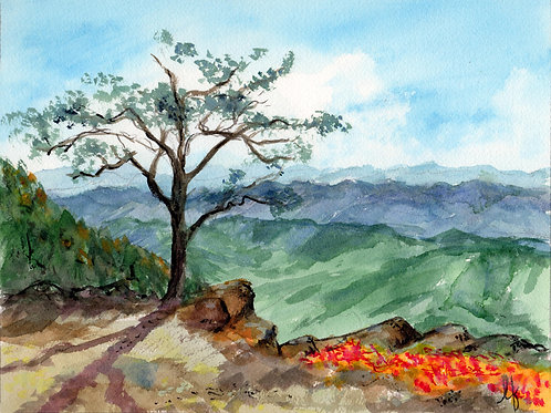 """Rouge's Roast"" Original Painting"