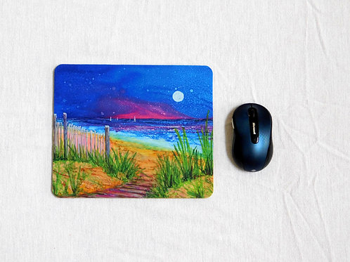 Beach Path Mouse Pad