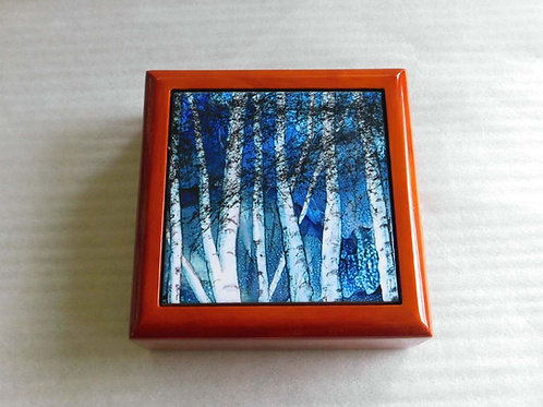 Winter Birch Keepsake Box