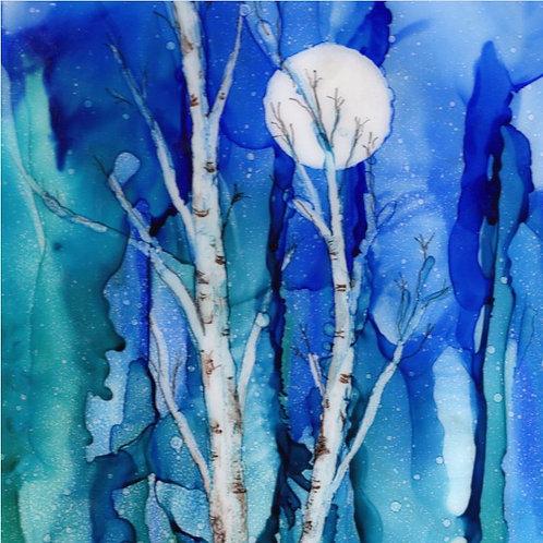 Twilight Birch Trivet