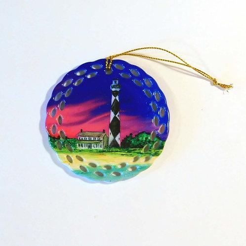 Cape Lookout Lighthouse Ornament