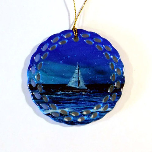 Midnight Sail Ornament