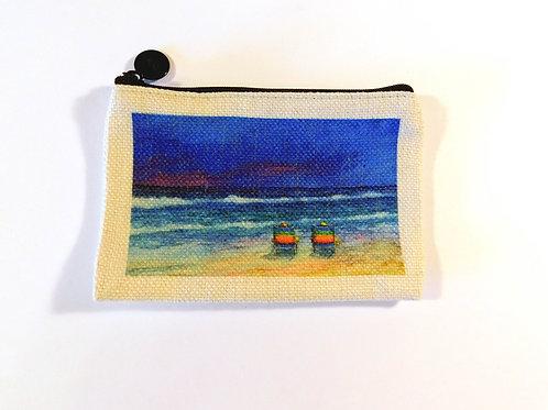 Beach Chairs Coin Bag
