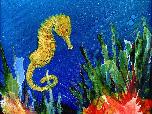 Sea Horse Print