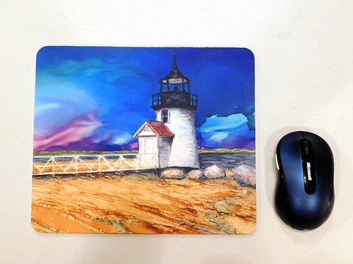 Brandt Point Lighthouse Mouse Pad