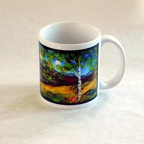 Brown Birch Mug