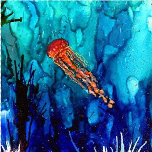 Jellyfish Trivet