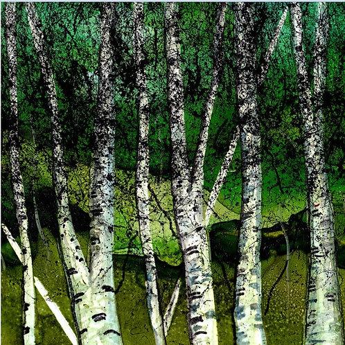 Summer Birch Trivet