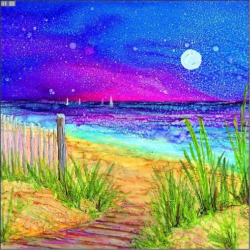 Beach Path Trivet