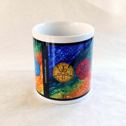 Sand Dollars Mug
