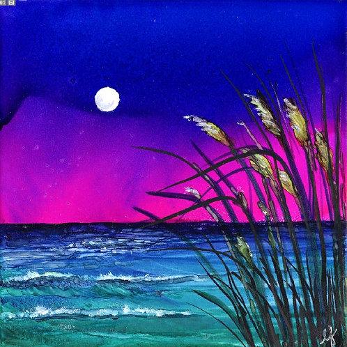 Moonlight Sea Oats Trivet