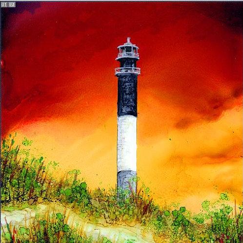 Oak Island Lighthouse Trivet