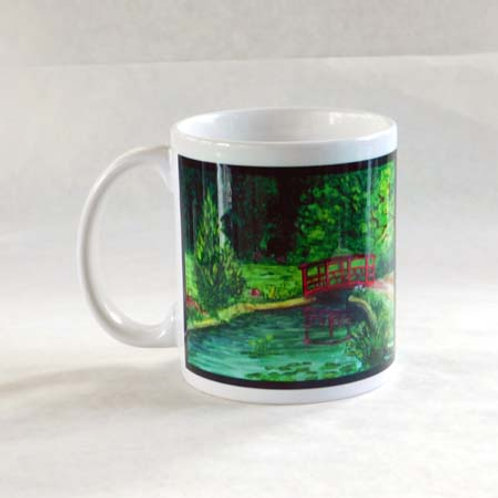 Red Bridge Mug