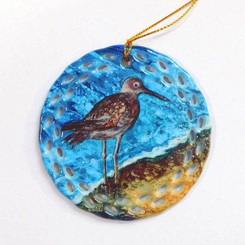 Sand Pipper Ornament