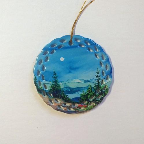 Blue Ridge Mountains Ornament