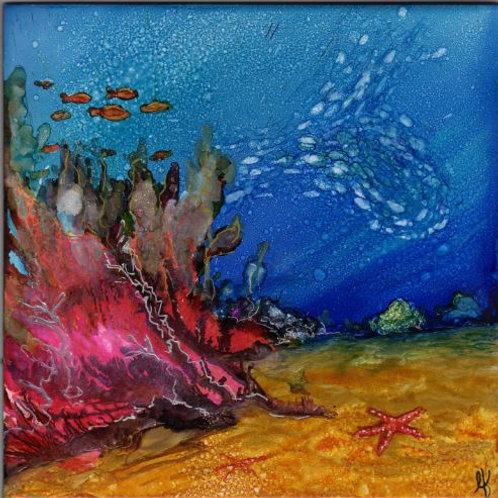 Reefs Edge Trivet